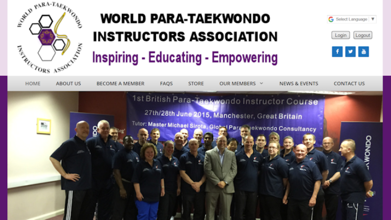 Para-Taekondo Instructors